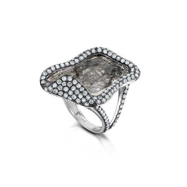 Eight Carat Slice Ring