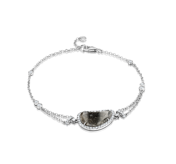 Sliced Diamond Bracelet