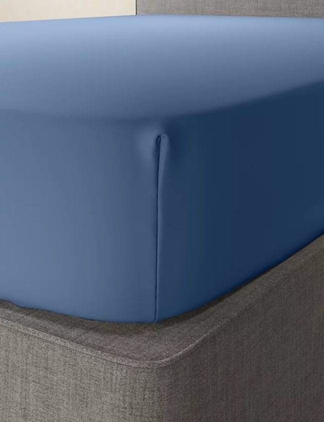 Slate Blue-Luxury Fitted Sheet
