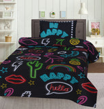 Be Happy-Bed Sheet Set