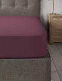 Red Wine-Luxury Fitted Sheet