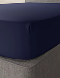 Midnight Navy-Luxury Fitted Sheet