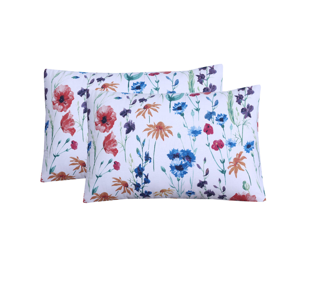 Fleur-Pack of 2 Pillow Cases