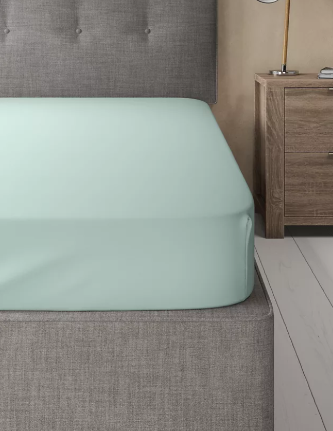 Duck Egg-Luxury Fitted Sheet