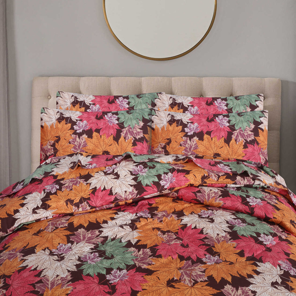 Tropical Autumn- Comforter Set