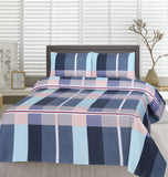 Boudery Check-Bed Sheet Set