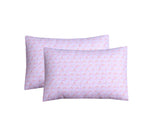Pink Rainbow-Pack of 2 Pillow Cases