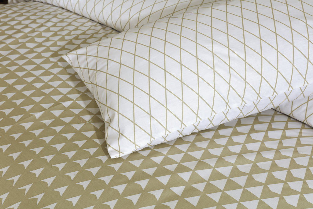 Prismatic-Bed Sheet Set