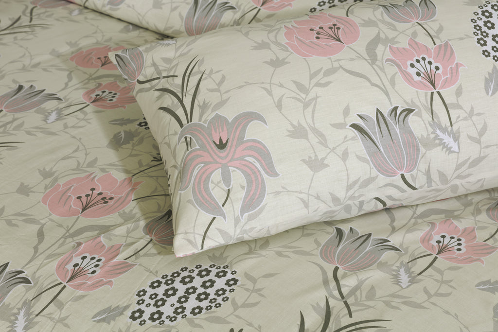 Floral Bloom-Bed Sheet Set
