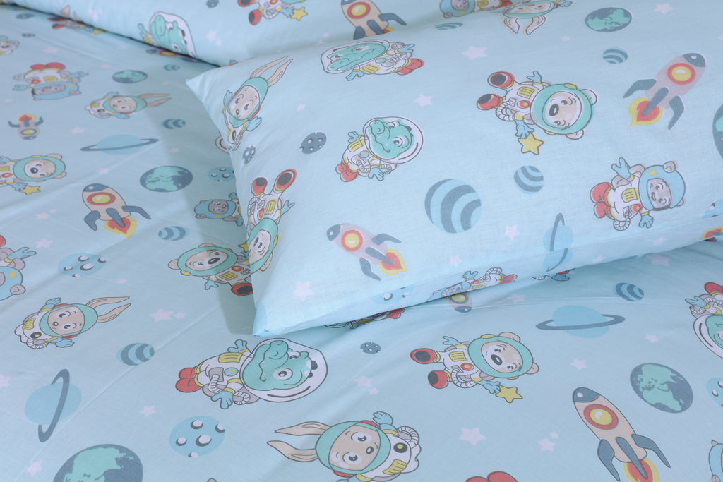 Space World- Bed Sheet Set