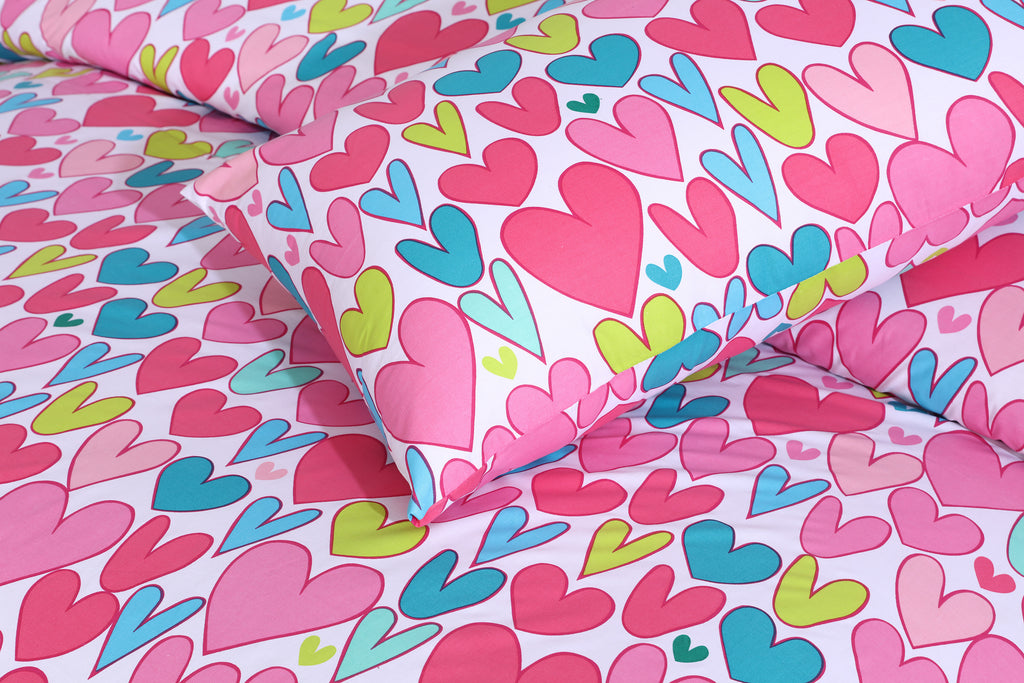 Love Heart -Bed Sheet Set