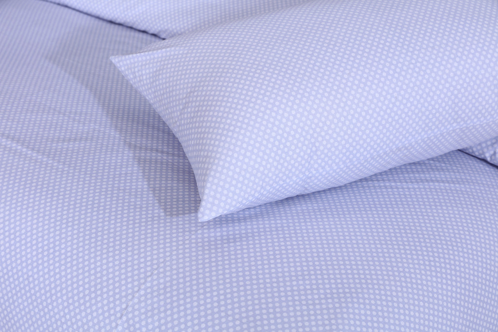 Essen- Light Blue- Bed Sheet Set