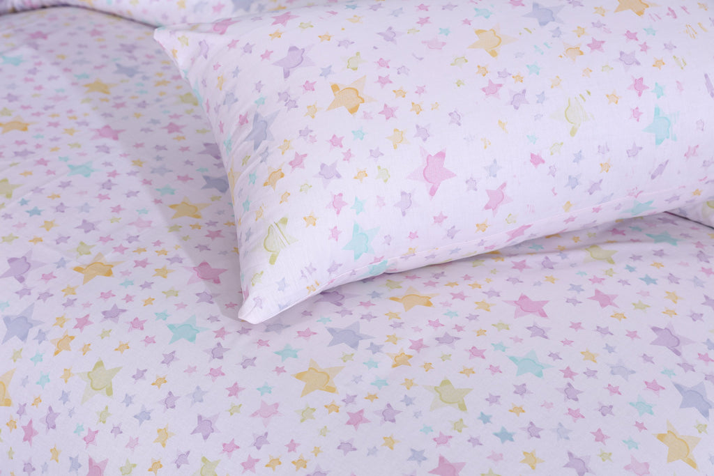 Tempting Stars-Pack of 2 Pillow Cases