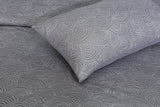 Dotted Grey-Bed Sheet Set