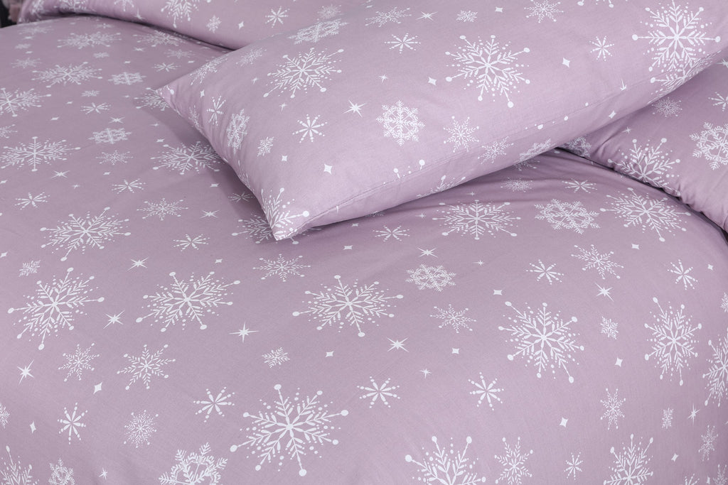 Lush Snow Lilac-Pack of 2 Pillow Cases