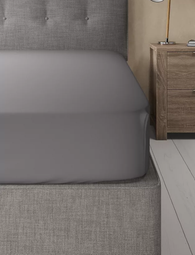Slate-Basic Fitted Sheet