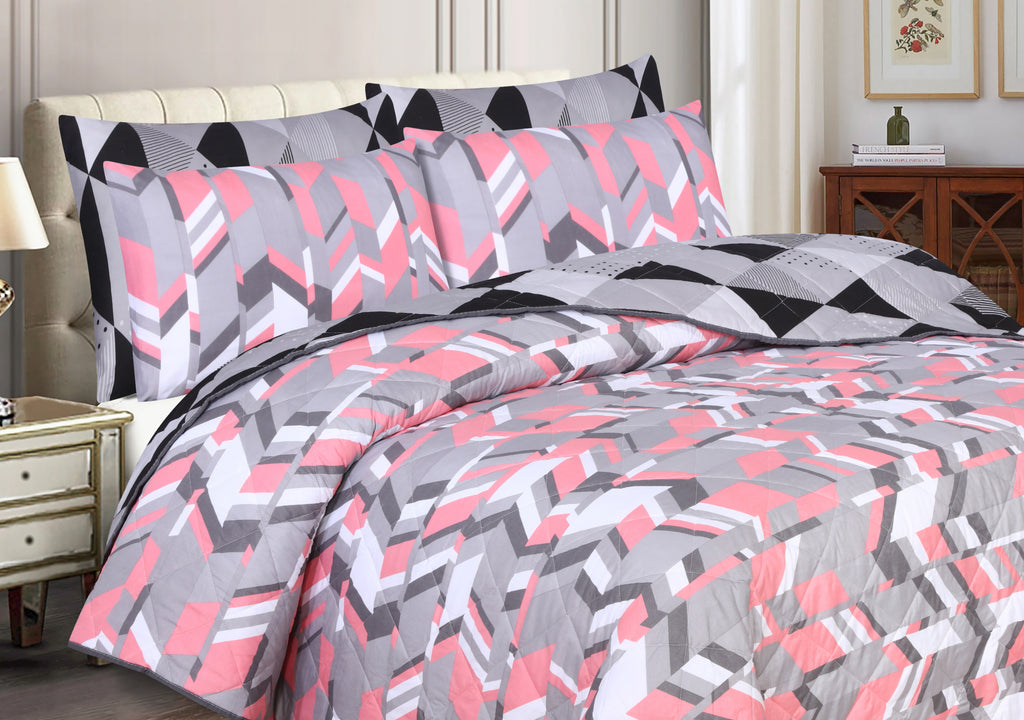 Magical Triangle-Bedspread (Reversible)