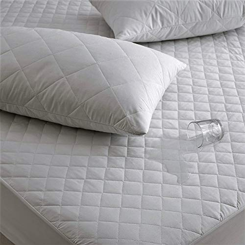 Waterproof Quilted- Mattress Protector