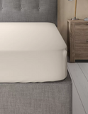 Greyish-Basic Fitted Sheet
