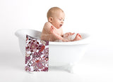 Pleasant Flowers-Kids Bath Towel