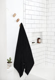 Jet Black-Super Soft Pure Cotton Bath Towel