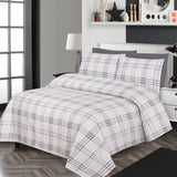 Costa Check-Bed Sheet Set