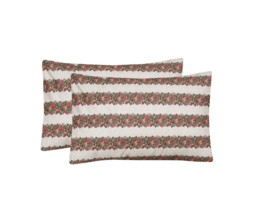 Fabel-Pack of 2 Pillow Cases