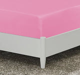 Shocking Pink-Basic Fitted Sheet