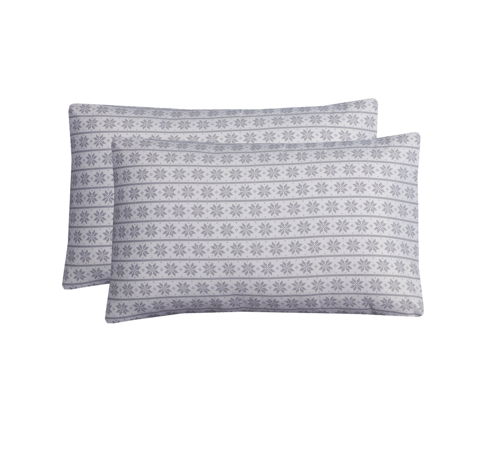 Geo-Pack of 2 Pillow Cases
