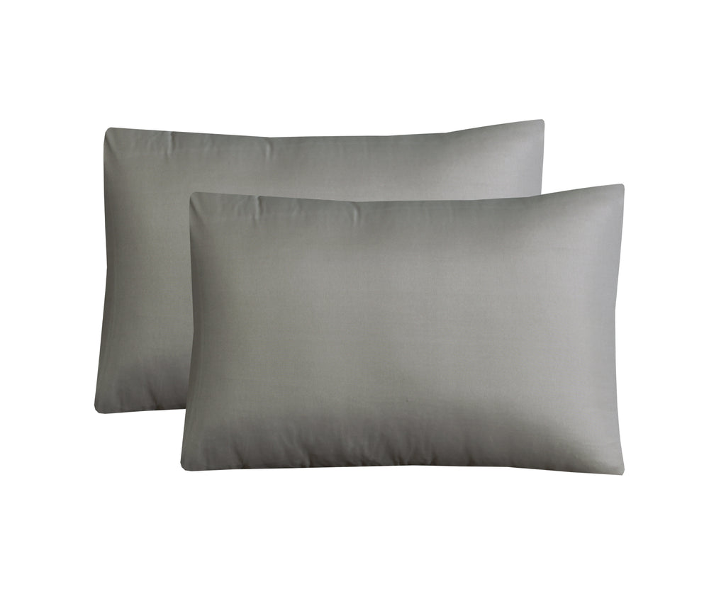 Graphite Luxury-Pack of 2 Pillow Cases