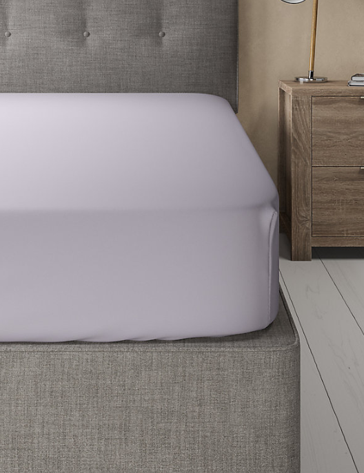 Lilac-Luxury Fitted Sheet