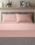 Soft Pink-Pack of 2 Pillow Cases