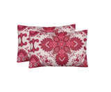 Rhubarb Pink-Pack of 2 Pillow Cases