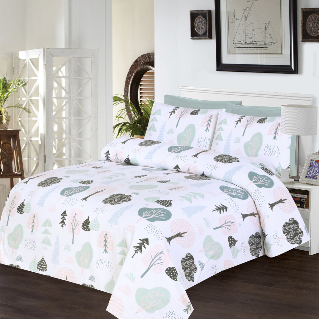 Autumn Trees-Bed Sheet Set