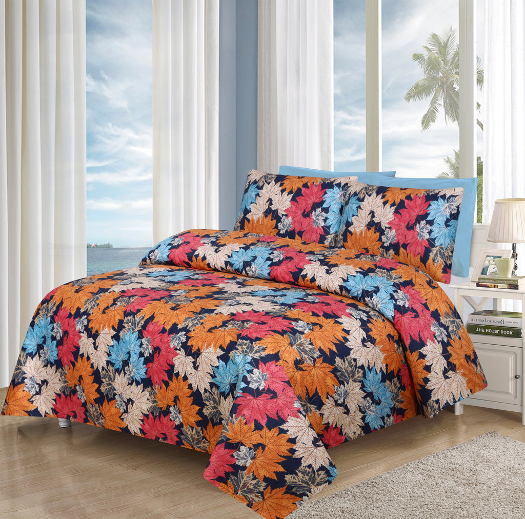 Tropical Leaves Multi-Bed Sheet Set