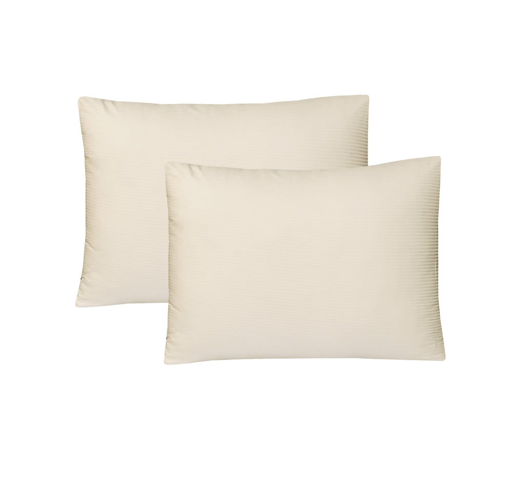 Cream-Pack of 2 Euro Sham
