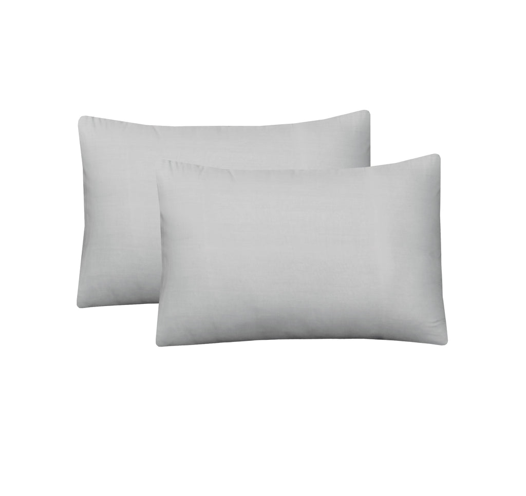 Greyish-Pack of 2 Pillow Cases