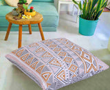 Paisely-Floor Cushion Cover Pair