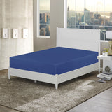 Royal Blue-Basic Fitted Sheet
