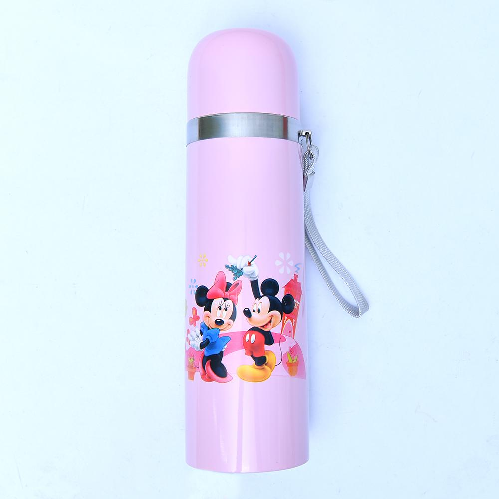 Micky Mouse Stainless Steel Hot & Cold Water Bottle 500ml