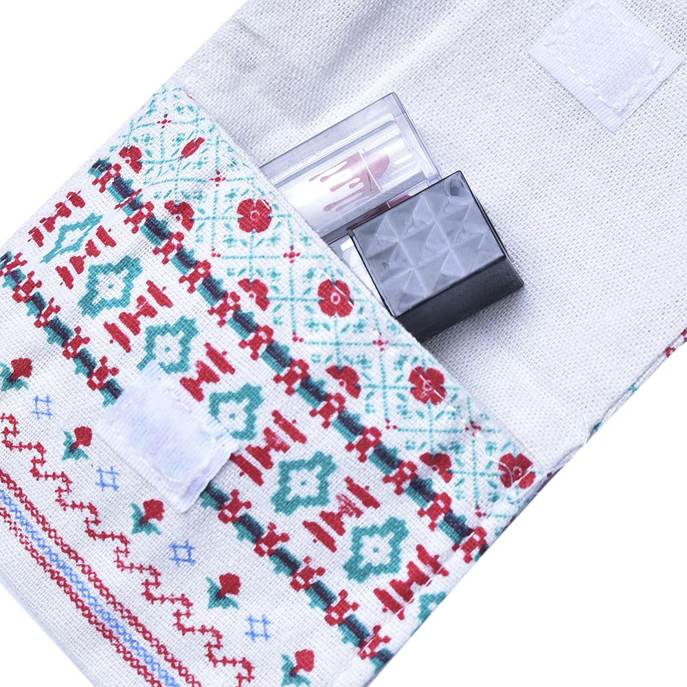 Handcrafted Fabric Pouch