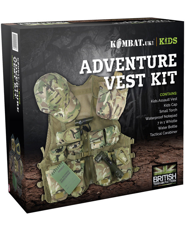 Kombat UK Kids Adventure Vest Set