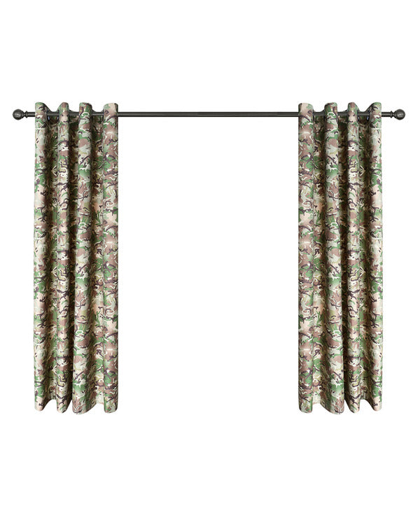 Kombat UK Kids BTP Camouflage Curtains