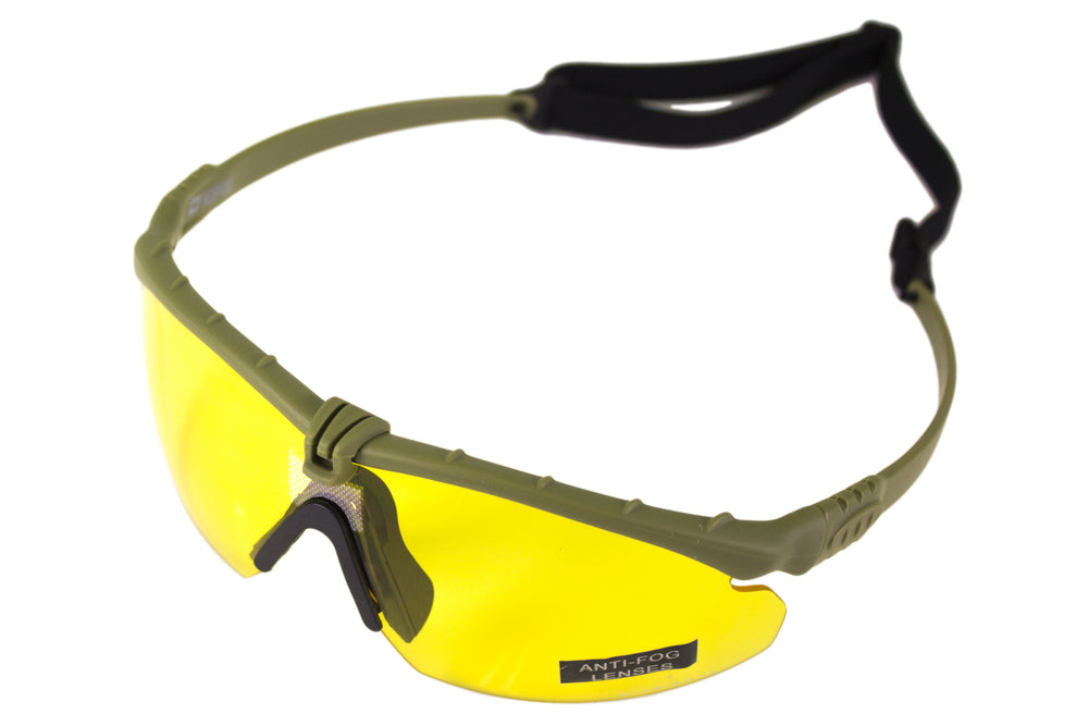 Nuprol Battle Pro's Green Frame/Yellow Lense
