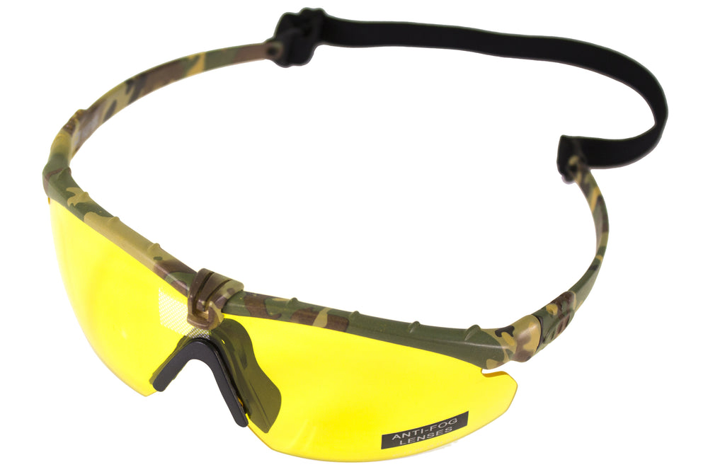 Nuprol Battle Pro's Camo Frame/Yellow Lense