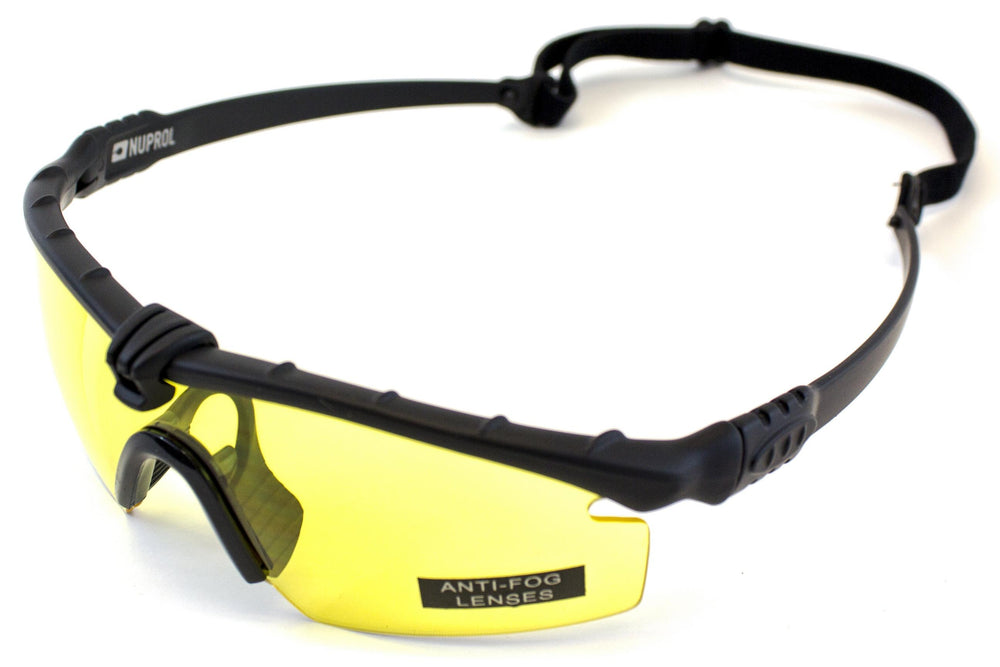 Nuprol Battle Pro's Black Frame/Yellow Lense
