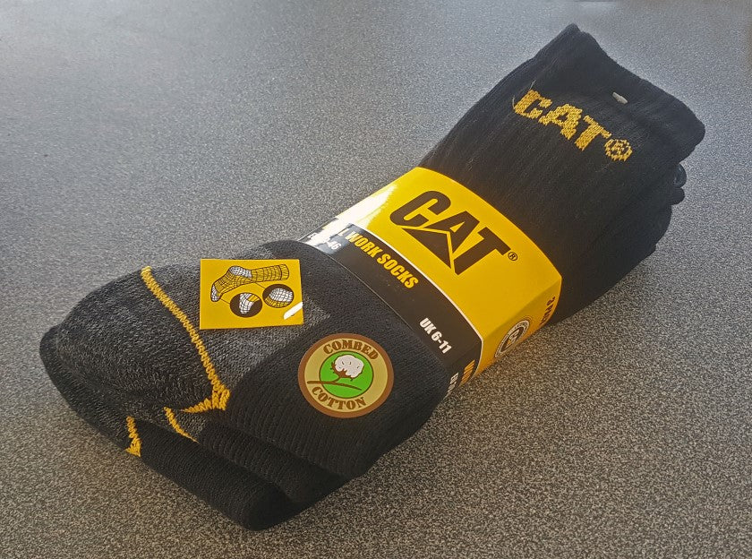 CAT Real Work Socks