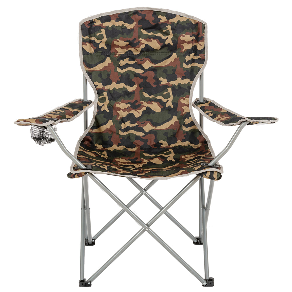 Moray Camp Chair With Arms - Camo