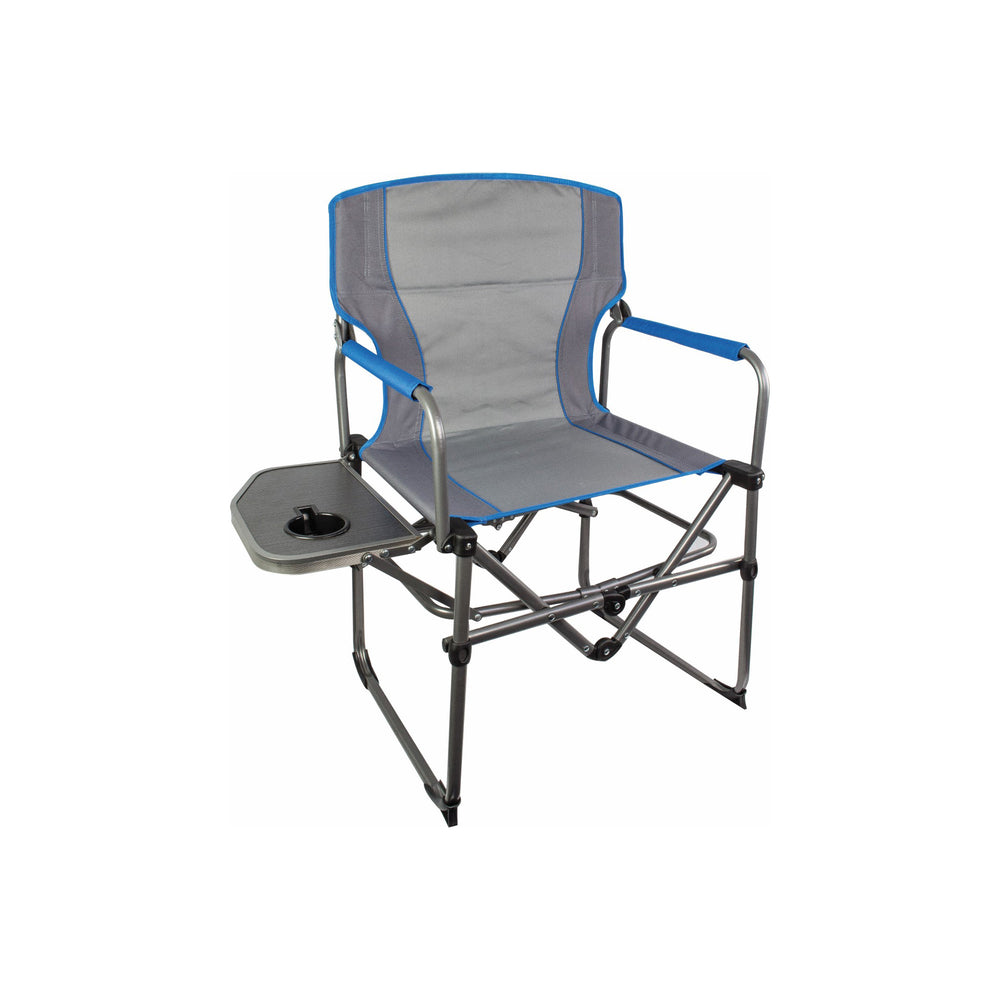 Compact Directors Chair With Side Table