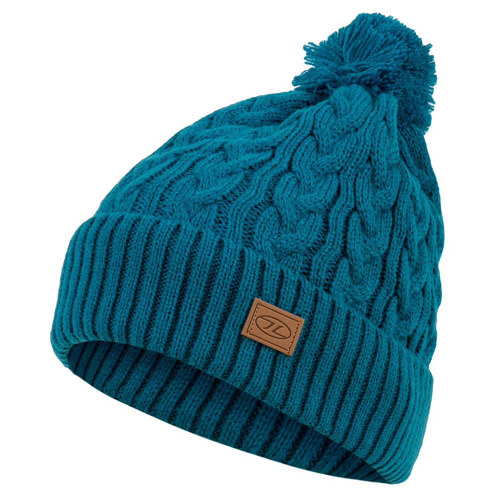 Beira Fleece Lined Bobble Hat
